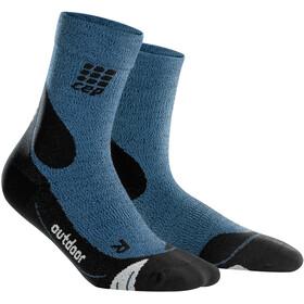 cep Dynamic+ Outdoor Merino Mid-Cut Socks Men desert sky/black